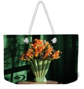 Orange Lilies In June Weekender Tote Bag