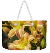Orange Lilies Portrait Weekender Tote Bag