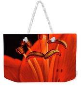 Orange Lilly  Weekender Tote Bag