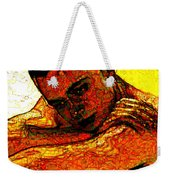 Orange Man Weekender Tote Bag