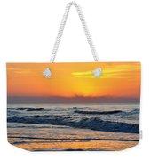 Orange Morn Weekender Tote Bag