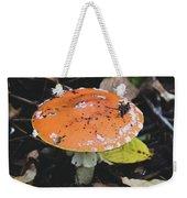 Orange Mushroom Weekender Tote Bag