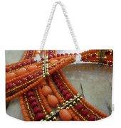 Orange Necklace Weekender Tote Bag