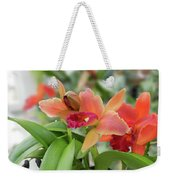 Orange Orchids 2 Weekender Tote Bag