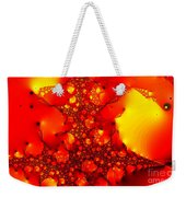 Orange Peel Weekender Tote Bag