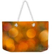 Orange Peel Weekender Tote Bag