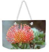 Orange Pincushion Protea Weekender Tote Bag