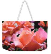 Orange-pink Roses  Weekender Tote Bag