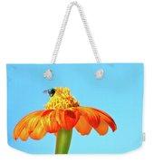 Orange Pop Flower Cafe Weekender Tote Bag