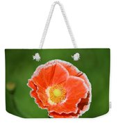 Orange Poppy 2 Weekender Tote Bag