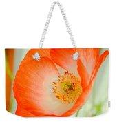 Orange Poppy Offering Nectar Weekender Tote Bag