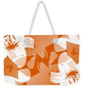 Orange Poster Lilies Weekender Tote Bag