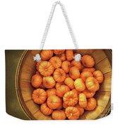 Orange Pumpkins Autumn Background. Weekender Tote Bag