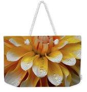 Orange Rain Weekender Tote Bag