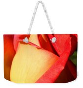 Orange Rosebud Weekender Tote Bag