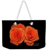 Orange Roses With Hot Wax Effects Weekender Tote Bag