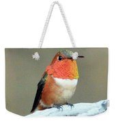 Orange Rufus Weekender Tote Bag