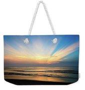 Orange Seas Weekender Tote Bag