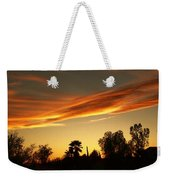Orange Sky Weekender Tote Bag