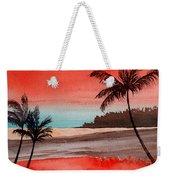Orange Sky Of Kauai Weekender Tote Bag