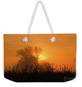 Orange Sky Rising Weekender Tote Bag