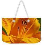Orange Stamens Weekender Tote Bag