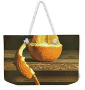 Orange Still Life Weekender Tote Bag