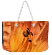 Orange Streaming Weekender Tote Bag