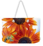 Orange Sunflower 2 Weekender Tote Bag