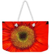 Orange Sunflower Weekender Tote Bag