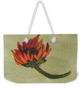 Orange Sunflower Weekender Tote Bag