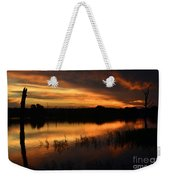 Orange Sunrise Weekender Tote Bag