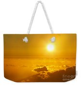 Orange Sunset - Haleakala Weekender Tote Bag