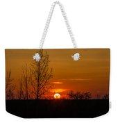 Orange Sunset Through The Trees Weekender Tote Bag