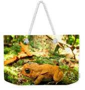 Orange Toad Weekender Tote Bag