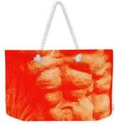 Orange Torso Weekender Tote Bag