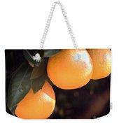 Orange Trio Weekender Tote Bag