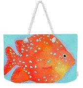 Orange Tropical Fish Weekender Tote Bag