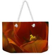 Orange Tulip Art Weekender Tote Bag