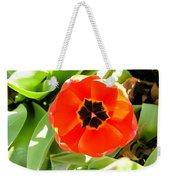 Orange Tulip Weekender Tote Bag