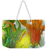 Orange Tulip Weekender Tote Bag
