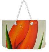 Orange Tulip Still Life Weekender Tote Bag