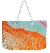 Tangerine Beach Weekender Tote Bag