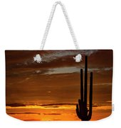 Orange Ya Beautiful Skies  Weekender Tote Bag