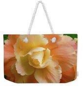 Orange Yellow Begonia Flower Weekender Tote Bag