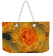 Orange You Lovely Weekender Tote Bag