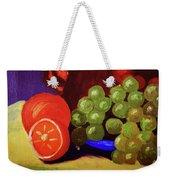 Oranges And Grapes Weekender Tote Bag