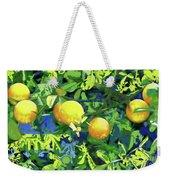 Oranges On Vine IIi Weekender Tote Bag