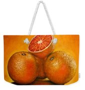 Oranges  Original Oil Painting Weekender Tote Bag