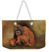 Orangutan Monkey Weekender Tote Bag